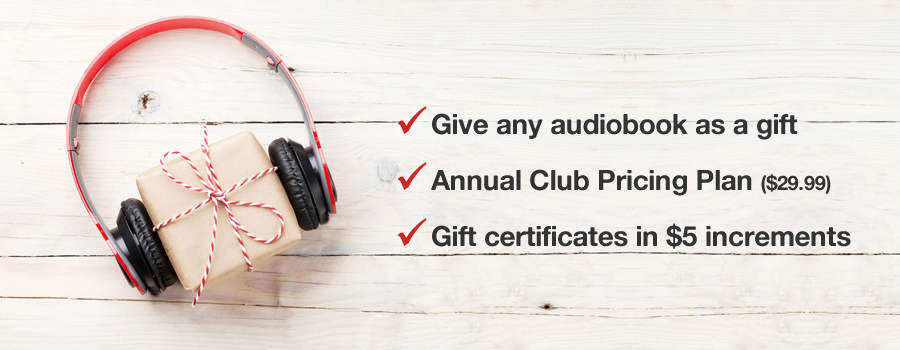 Give the Gift of Audiobooks