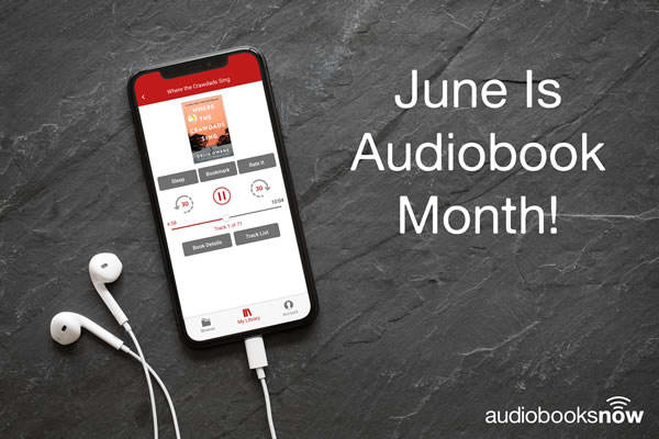 Audiobook Month 2019 Promo