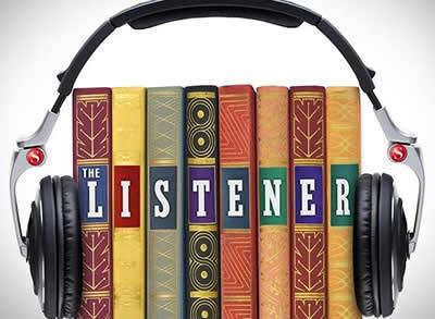 Books In Headphones