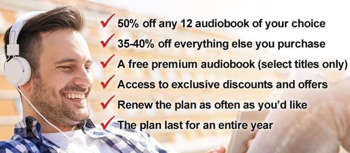 How 50 Off 12 Auidobooks Plan Works