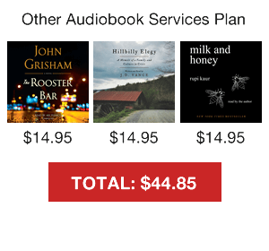 Other Audiobook Service Plans