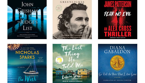 Audiobooks you love