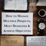How to Manage Multiple Projects & Meet Deadlines, Pryor Learning Solutions