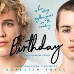 Birthday A Novel, Meredith Russo