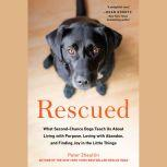 Rescued What Second-Chance Dogs Teach Us About Living with Purpose, Loving with Abandon, and Finding Joy in the Little Things, Peter Zheutlin