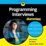 Programming Interviews For Dummies, Eric Butow
