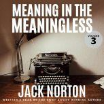 Meaning In The Meaningless, Volume 3 Musings on the Power of the Present Moment, Jack Norton