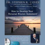 how to develop your personal mission statement pdf