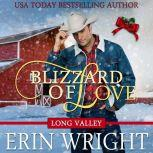 Blizzard of Love A Western Holiday Romance Novella (Long Valley Romance Book 2), Erin Wright
