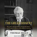 The Great Dissent How Oliver Wendell Holmes Changed His Mind--and Changed the History of Free Speech in America, Thomas Healy