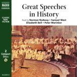 Great Speeches in History, Socrates, Demosthenes, Cicero, William of Normandy, John Ball, Martin Luther, Sir Thomas More, Queen Elizabeth I, King Charles I, Oliver Cromwell, William Pitt the Elder, Edmund Burke, Patrick Henry, Samuel Adams, William Pitt the Younger, Thomas Erskine,