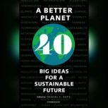 A Better Planet Forty Big Ideas for a Sustainable Future, Daniel C. Esty