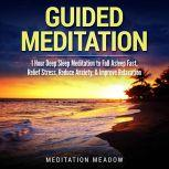 Guided Meditation 1 Hour Deep Sleep Meditation to Fall Asleep Fast, Relief Stress, Reduce Anxiety, & Improve Relaxation, Meditation Meadow