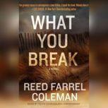 What You Break, Reed Farrel Coleman