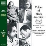 Voices of Black America, Booker T. Washington, Paul Laurence Dunbar, Langston Hughes and others