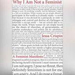 Why I Am Not A Feminist A Feminist Manifesto, Jessa Crispin