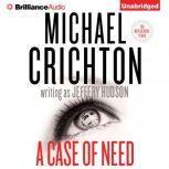 Case of Need, A, Michael Crichton