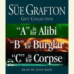 """Sue Grafton ABC Gift Collection """"A"""" Is for Alibi, """"B"""" Is for Burglar, """"C"""" Is for Corpse, Sue Grafton"""