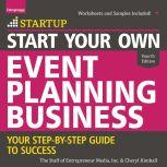 Start Your Own Event Planning Business Your Step-By-Step Guide to Success, 4th Edition, Cheryl Kimball