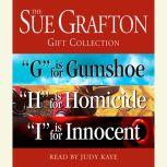 """Sue Grafton GHI Gift Collection """"G"""" Is for Gumshoe, """"H"""" Is for Homicide, """"I"""" Is for Innocent, Sue Grafton"""