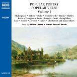 Popular Poetry, Popular Verse – Volume I, William Shakespeare; John Milton; William Blake; William Wordsworth; Lord Byron; Percy Bysshe Shelley
