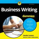 Business Writing For Dummies 3rd Edition, Natalie Canavor