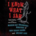 I Know What I Saw Modern-Day Encounters with Monsters of New Urban Legend and Ancient Lore, Linda S Godfrey
