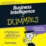 Business Intelligence For Dummies, Swain Scheps