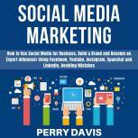 Social Media Marketing How to Use Social Media for Business, Build a Brand and Become an Expert Influencer Using Facebook, Youtube, Instagram, Spanchat and LinkedIn, Avoiding Mistakes, Perry Davis