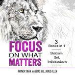 Focus on What Matters 3 Books in 1 - Stoicism, Grit, indistractable, Rhonda Swan