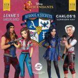 Disney Descendants: School of Secrets: Books 4 & 5 Lonnie's Warrior Sword & Carlos's Scavenger Hunt, Jessica Brody