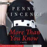 More Than You Know, Penny Vincenzi