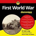 First World War For Dummies, Dr. Sean Lang