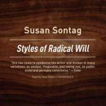 Styles of Radical Will, Susan Sontag