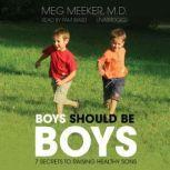 Boys Should Be Boys 7 Secrets to Raising Healthy Sons, Meg Meeker, M.D.