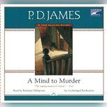 A Mind to Murder, P. D. James