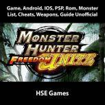Monster Hunter Freedom Unite Game, Android, IOS, PSP, Rom, Monster List, Cheats, Weapons, Guide Unofficial, Hse Games