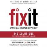 Fix It Getting Accountability Right, Roger Connors