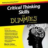 Critical Thinking Skills For Dummies, Martin Cohen