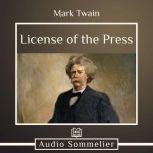 License of the Press, Mark Twain