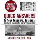 Rashad's Quick Course On Taxes, Rashad Phillips