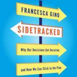 Sidetracked Why Our Decisions Get Derailed, and How We Can Stick to the Plan, Francesca Gino
