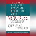What Your Doctor May Not Tell You About: Menopause The Breakthrough Book on Natural Progesterone, John R. Lee