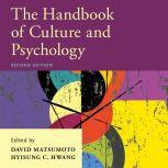The Handbook of Culture and Psychology 2nd Edition, Hyisung C. Hwang
