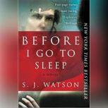 Before I Go To Sleep, S. J. Watson