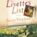Lisette's List, Susan Vreeland