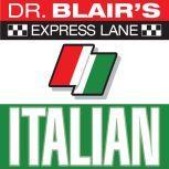 Dr. Blair's Express Lane: Italian Italian, Robert Blair