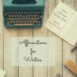 Affirmations for Writers, Suzan Battah