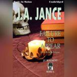 Failure To Appear, J.A. Jance