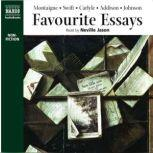 Favourite Essays: An Anthology, Michel de Montaigne; Jonathan Swift; Thomas Carlyle; Joseph Addison; Samuel Johnson